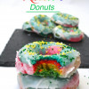 Baked Rainbow Donuts