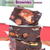 Overloaded Easter Rocky Road Brownies