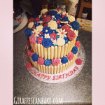 Cadbury Chocolate Fingers Birthday Cake!