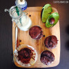 Chocolate Avocado Muffins with Lime