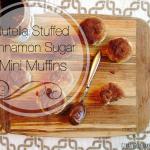 Nutella Stuffed Cinnamon Sugar Mini Muffins