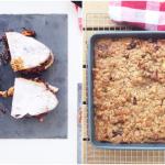 Chocolate Walnut French Toast Two Ways