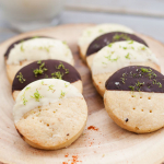 Sweet and Spicy Shortbread Cookies