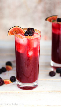 Blackberry, Cinnamon and Fig Margarita