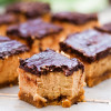 Gluten Free Peanut Butter Cheesecake Bars