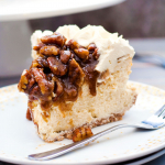 Pecan Pie Cheesecake {Gluten Free}