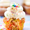 Funfetti Cupcakes {Gluten Free}
