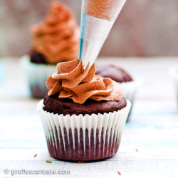 The Best Chocolate Buttercream Frosting... Ever! (+ Video)