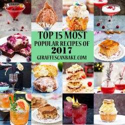 The 15 Most Popular Recipes on Giraffes Can Bake in 2017