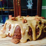 Brown Sugar & Pecan Caramel Bundt Cake