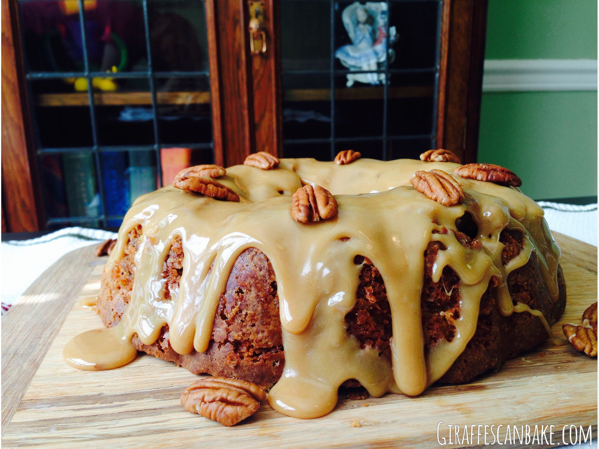 Brown Sugar and Pecan Caramel Bundt Cake - a moist and tender bundt ...