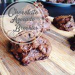 Chocolate Avocado Brookies