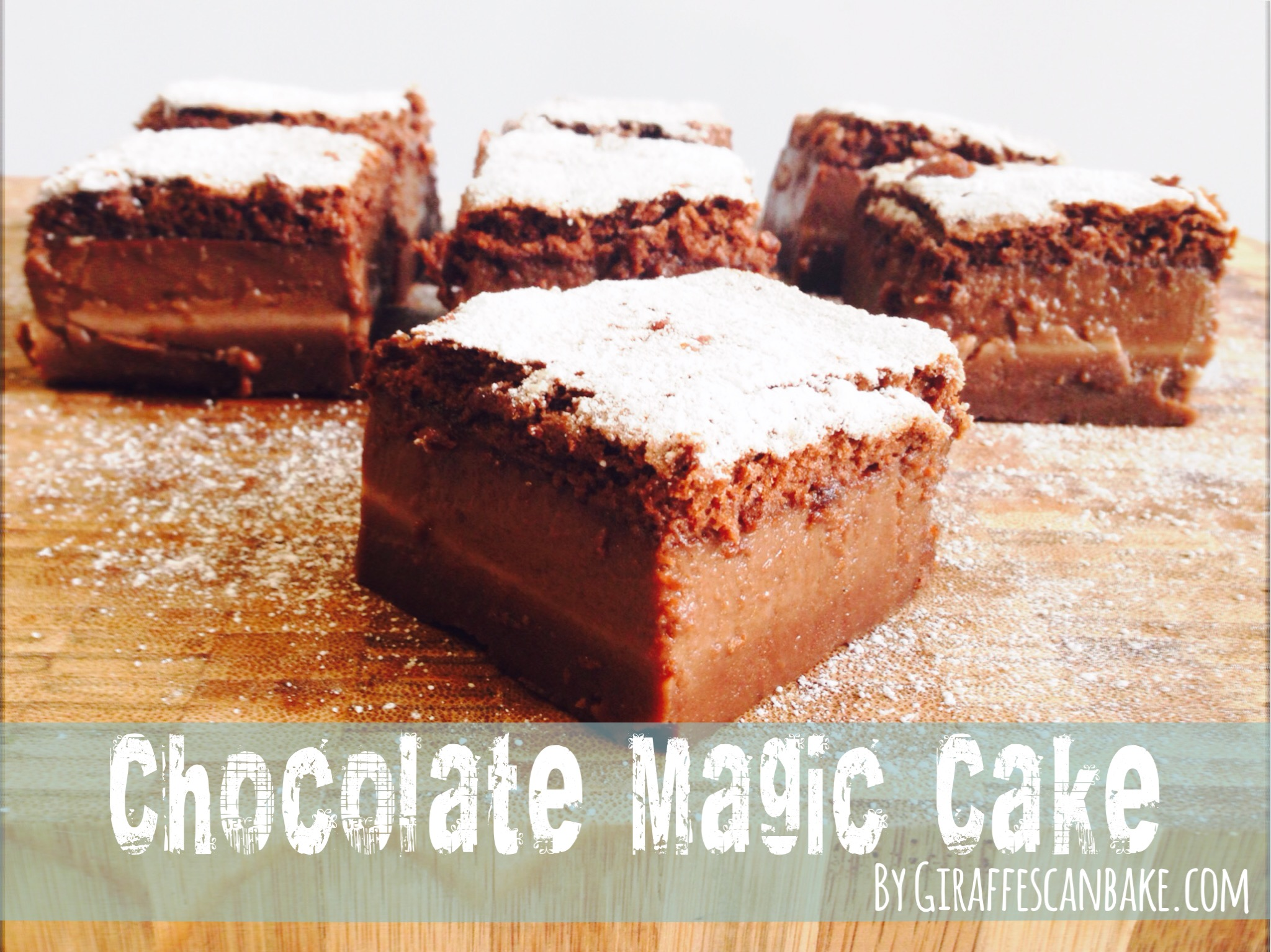 chocolate magic cake chocolate magic cake giraffes can bake 2883