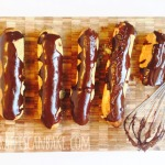 Chocolate Orange Eclairs + a Giveaway