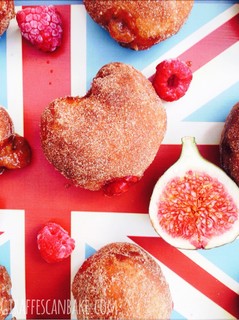 Fig Jam Donuts