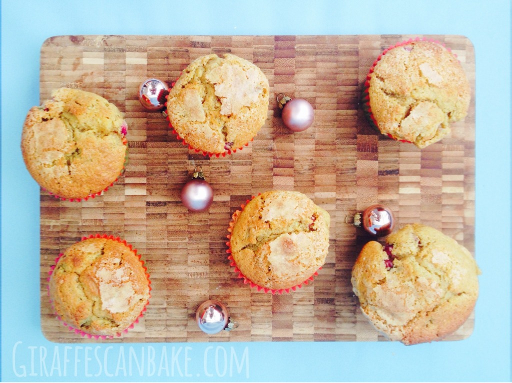 Clementine and Pomegranate Muffins - These Clementine and Pomegranate Muffins are the perfect way to get your Christmas fix in the mornings, full of festive flavours and totally delicious!