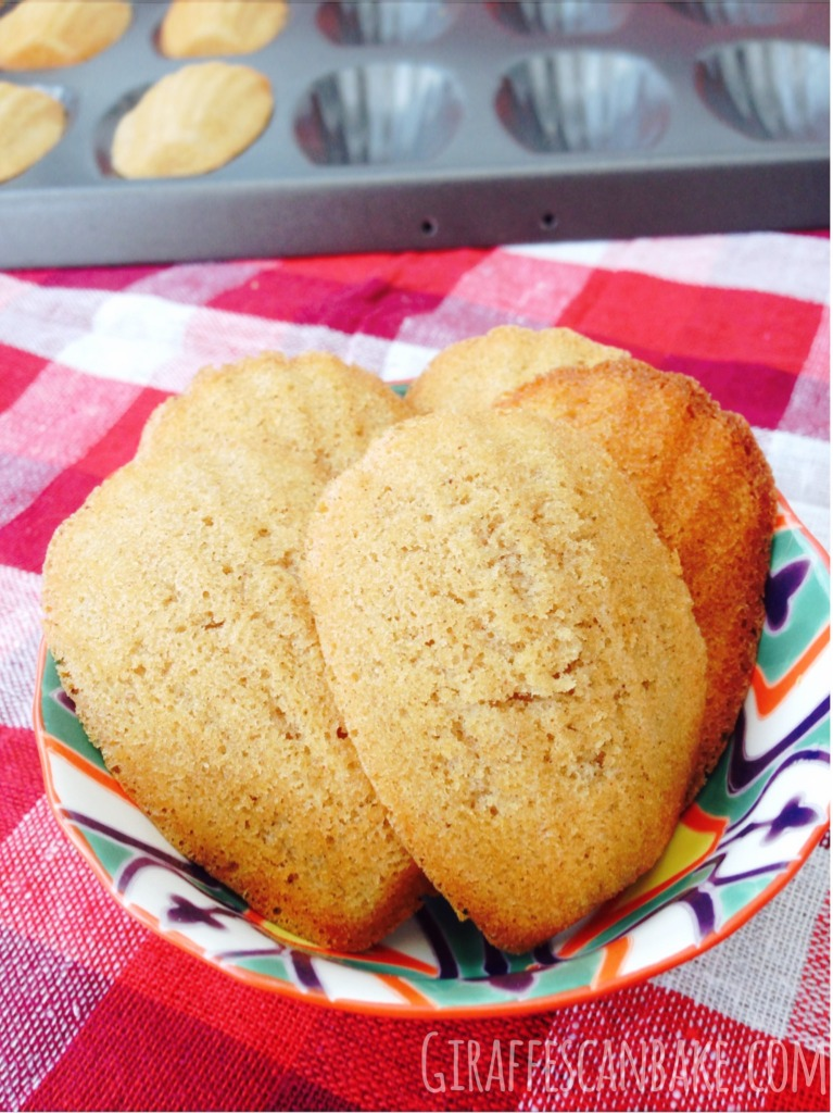 Quince Madeleines