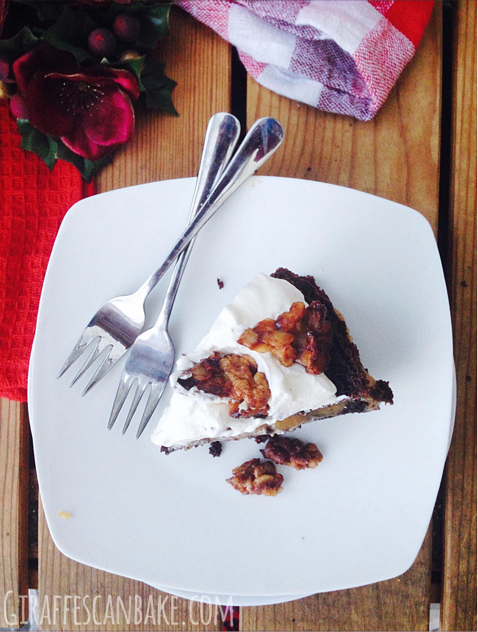 Spiced Chocolate Christmas Cake
