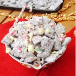 Chocolate Peppermint Puppy Chow