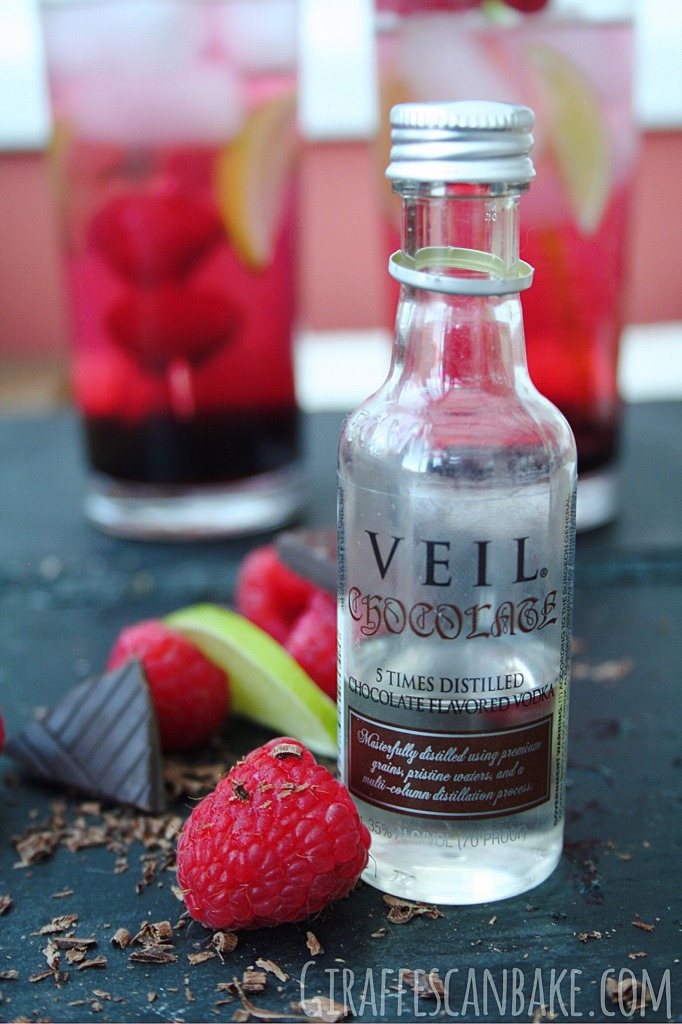 Chocolate Raspberry Vodka Tonic