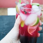 Chocolate and Raspberry Vodka Tonic