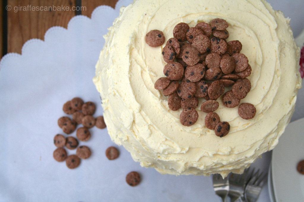 Chocolate Chip Cookie Millionaire Cake