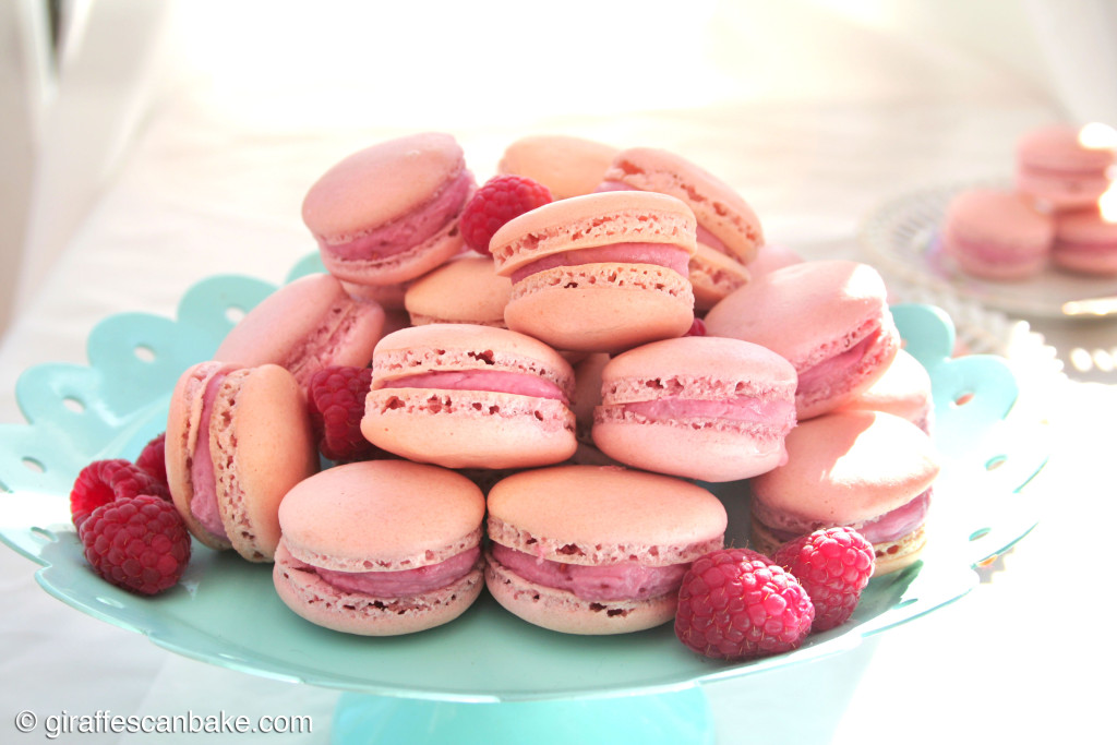Bouquet Of Raspberry Mascarpone Macarons Recipes — Dishmaps