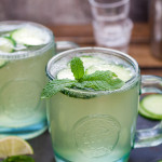 Cucumber Mint French 75 (aka Diamond Gin Fizz)