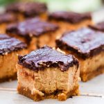 Gluten Free Peanut Butter Cheesecake Bars