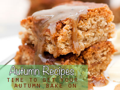 For all your autumn baking needs