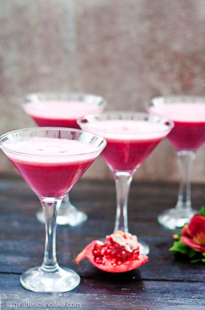 Pomegranate martini gin for Best gin for martini recipes