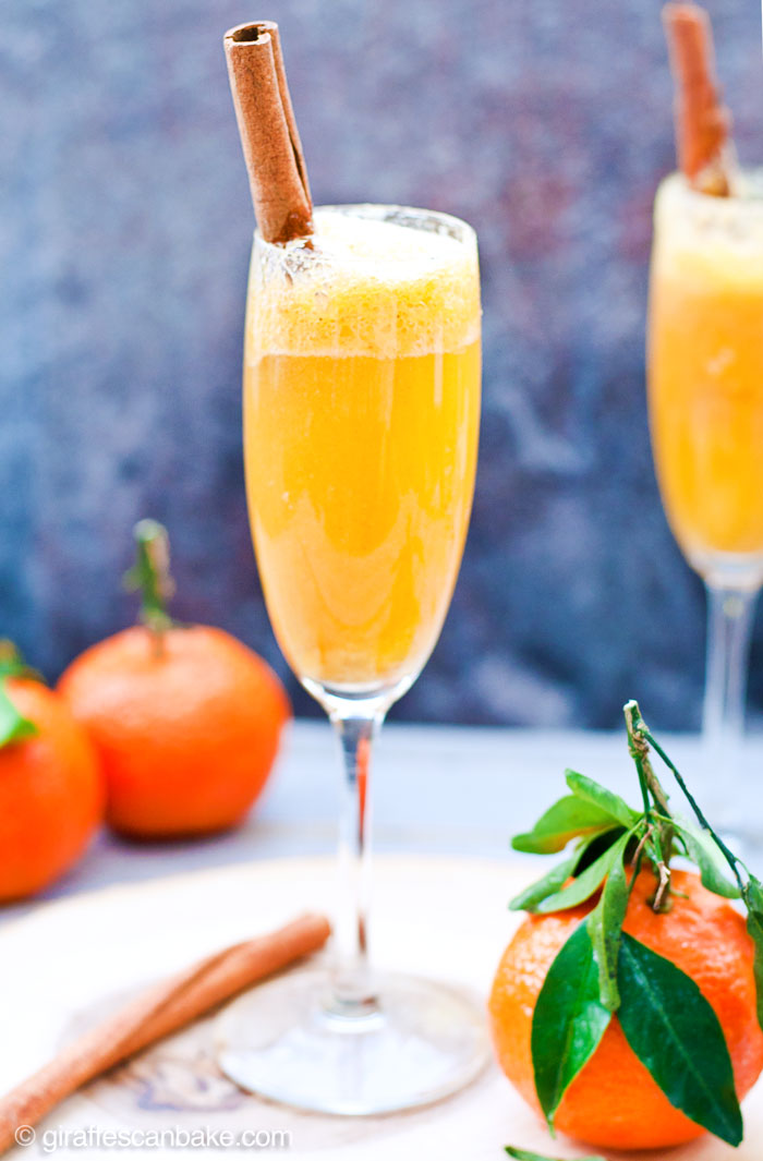 Spiced Clementine Bellini