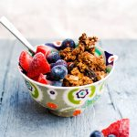 Nutty Chocolate Gluten Free Granola (+ Video)