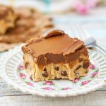 Gluten Free Peanut Butter Cookie Dough Bars (+ Recipe Video)