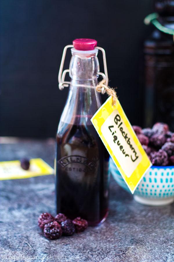 Blackberry Liqueur (Crème de Mûre
